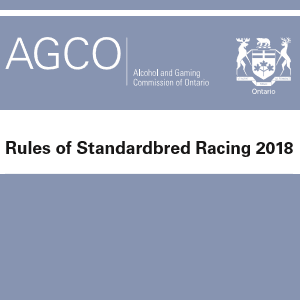 Rules of Standardbred Racing - COSA