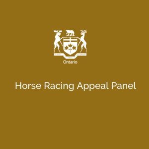 Horse Racing Appeal Panel