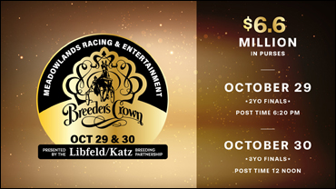 """Featured image for """"Fields Set For 2021 Breeders Crown"""""""